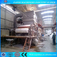 2400mm single dryer & single cylinder mould toilet paper machine, tissue paper making machine for sale