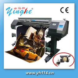 High definition 1.52m plotter with bubble free pvc vinyl