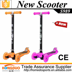 Good quality cheap sell kick scooter 3 wheel