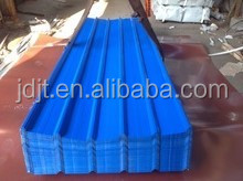 low cost blue trapezoidal steel sheet