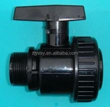 PVC\CPVC SCH80 single union valve thread M&F