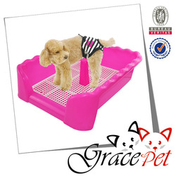 Grace Pet Plastic Indoor Pet Toilets For Male Dogs