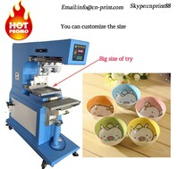 big printing size ceramic Tampo bowl pad Printing Machine large pad printer machine LC-PM1-250