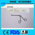 China alta calidad médico quirúrgico de la nariz tijeras