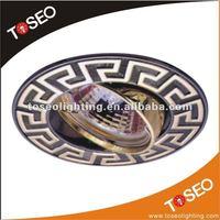halogen mr16 12v zinc alloy brass light fittings