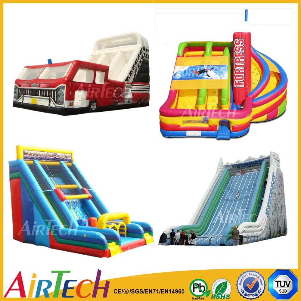 Inflatable Everest Slide: Inflatable Slide,Giant Inflatable Slide,Firetruck/high