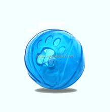 rubber ball factory pet products felt rope ball toys/pet ball tor for dog dental