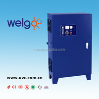 Ozone generator with oxyge generator for swimming pool water treatment