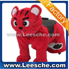 LSJQ-211factory outlet coin operated walking animal ride on toy horse scooter pedal mechanical zippy rider for kids mall