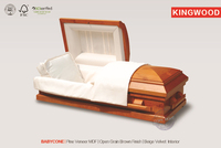 BABYCONE US style baby casket infant small cheap wood casket