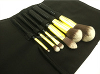 High quality 6 pieces travel cosmetic brush glitter makeup brush set