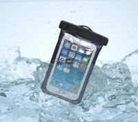 Universal Waterproof Case IPX8 Certified to 100 Feet for iPhone 6 5S 5 4S for Samsung Galaxy S5 S4 S3 Note 3 for HTC One