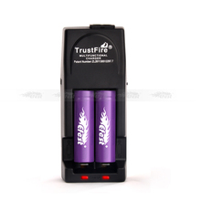 High tech gadgetsTrustFire new product universal charger TR-001 18650 rechargeable battery charger/car charger EU AUS UK US plug