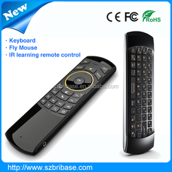 BEST supplier 2.4g mini Infrared remote control wireless keyboard with touchpad for android TV box....
