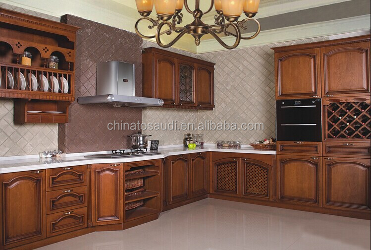 Factory made wood kitchen cabinet set modular kitchen for Kitchen cabinets sets