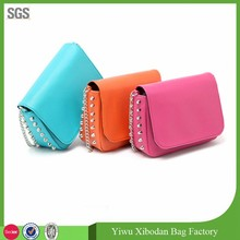 studs shoulder messenge bag factory manufacturer
