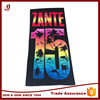 100% Cotton 21s Reactive Printing Promotion Beach Towel High Quality
