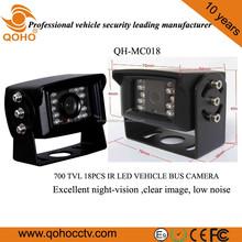 QOHO 18 Pcs IR LED 700TVL CCD Night Vision Car camera For vehicle
