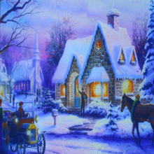 New home decorative light up LED Canvas painting picture with many sizes for decoration
