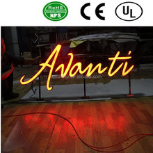 High quality acrylic LED channel letter, outdoor/indoor illuminated logo