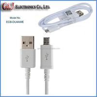 Hot USB charging cable ECB-DU4AWE original data cable for Samsung galaxy S5 S4 S3 Note2