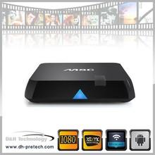 wholesale smart tv set top box amlogic s802 H.265 4k/2k quad core android 4.4 smart tv box skype