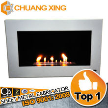 New design OEM service quality customized steel electric fireplace