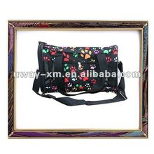 UW-PB-067 attractive colorful polyester pet bags for coming 2012