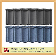 Different types of stone coated metal roofing tile