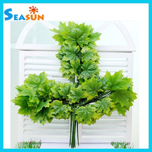 OEM Wholesale Canada Artificial Maple Leaves, Decorative Maple Branches