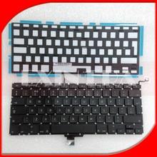 "Genuine NEW UK Keyboard with Backlit Backlight for MacBook Pro 13"" A1278 2009 2010 2011 2012"