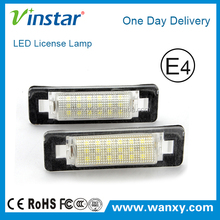 New Car accessories led number light for W210 4D