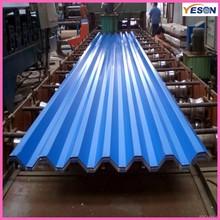 blue color coating roofing tile / corrugating tile / corrugating steel sheets