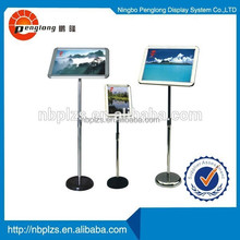 2015 Aluminum chinese style photo picture stand Poster Display Racks