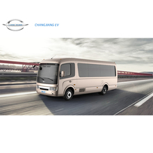 Long River Battery Powered Pure Electric Luxury Mini Bus or Shuttle Bus or Mid-size Bus, Transmission Vehicle Car