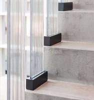Prima decorative fabric laminated glass