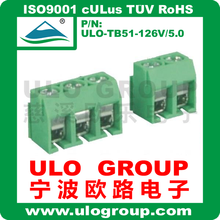 Free samply classical euro type PCB terminal block pitch 5.0mm 022 from ULO Group