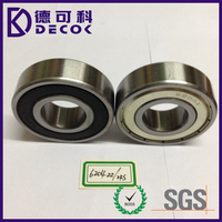 factory directly deep groove ball bearing 6204 with high quality