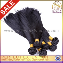 No Chemical Hair Colour Tash Weave Unprocessed 100% Virgin Brazilian Human Hair