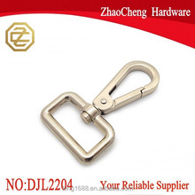 35mm swivel snap hook bag clasps puch gate swivel snap hook Trigger Clips metal Snap Hook