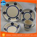 Atacado produtos de mesa de jantar conjunto, mesa de jantar de cerâmica set