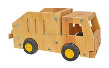 Promotional antique wooden car model