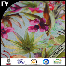 100% polyester fabric digital printing for women