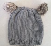 Cute Girls Winter Faux Fur Trim animal ears Hat