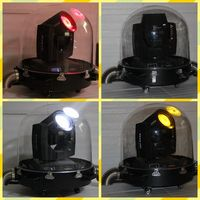 200w 5r waterproof Outdoor celling moving head light round plastic dome light rain cover