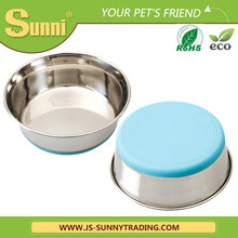 Large capacity stainless steel automatic dog feeder