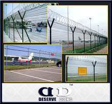Y type fence post/airport fence/isolation fence