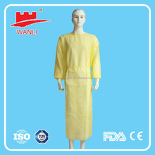 Disposable PP+PE laminated Chemotherapy Gown
