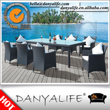 DYDS-D9817 Danyalife Aluminum Synthetic Wicker Outdoor Cafe Dining Chair
