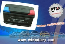 Starting truck batteries automotive batteries 12v 100ah car battery with best price